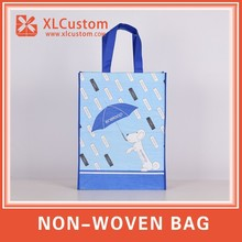 Full color Promotion Non woven Packaging bag Laminated bag