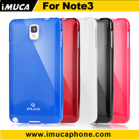 Promotion discount ! IMUCA tpu jelly phone case for Samsung galaxy note 3 cover in stock phone case with retail box