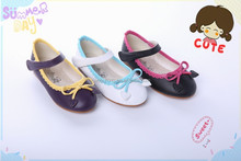 New design bowknot kids shoes korea wholesale from China manufacturer