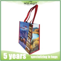 foldable shopping bag/rpet bag/wholesale reusable shopping bags for promotional