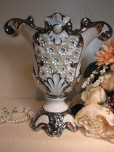 2015 fine ceramic item designer home decor flower vase
