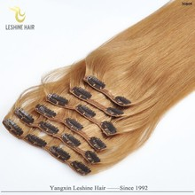 Ali Gold Supplier Quality+Products Factory Buying Pefect Color curly blonde 60 clip in remy human hair