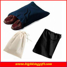alibaba express china direct manufacturer 2014 new design Custom printed drawstring shoe bag