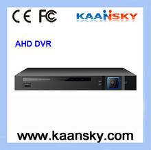 2015 New product h.264 P2P AHD cctv camera dvr systems 720P AHD DVR 16ch with 2 HDD