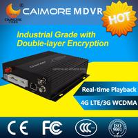 Caimore H.264 Video SD Card 64GB 4Ch Alarm 3G Mobile DVR Digital Video Recorder For Patrol Car