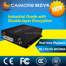 Caimore H.264 Video SD Card 64GB 4Ch Alarm 3G Mobile DVR Digital Video Recorder For Patrol Car