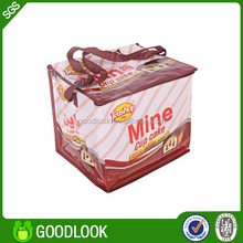 eco friendly reusable pp woven grocery bags for carrying GL111