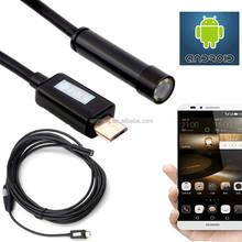 2015 New 6 LED 7mm USB Endoscope Camera IP66 Waterproof Camera 2M USB Endoscope Inspection Mini Camera