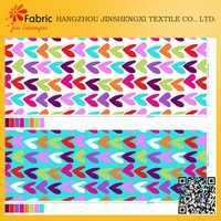 Pretty heart shaped colored cotton fabric types