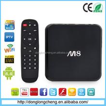 2015 Hot Sale Smart TV Box M8 Amlogic S802 Quad Core Internet OTT TV Box Android 4.4