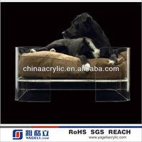 Hot Sale Luxury Lucite Acrylic Pet Dog Bed