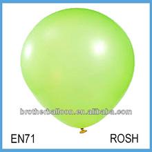 de látex ronda de la forma del globo de cumpleaños para la decoración