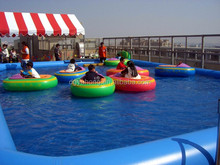 Best price inflatable games kids inflatable water bumper boat