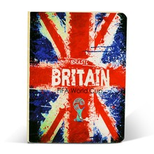 Custom gift 2015 school/office notebook hardcover notebook printed World -cup
