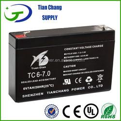6V 7Ah Lead Acid Solar PV UPS SLA VRLA LED Light Tool Battery