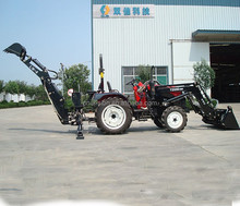 Original manufacturer WZ25-10 50HP 4WD tractor with loader and backhoe