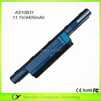 4400mAh rechargeable battery for acer as10d31 laptop battery