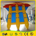 Wow! labra nuevamente fly fish banana boat / inflable peces voladores / fly fish tude venta caliente