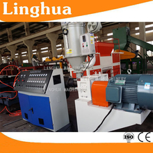 pe pp pvc single wall double wall plastic corrugation pipe production machine