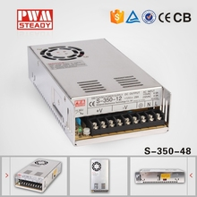 LED Universal Regulated Switching Power Supply AC to DC 350W 48V DC 7.3A High Voltage Switch Mode Power Supply