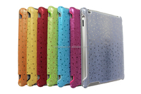 New 2015 Colorful Fashion For Apple IPad Case Pu Leather peacock shin Cover Case For IPad