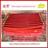 vehicle auto parts red color ear truck leaf spring assembly