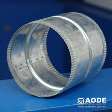 galvanized round Joining Collar CA the accessories for air duct work of HVAC / ventilation made by China manufacturer