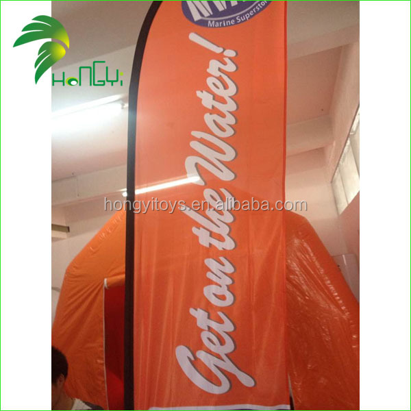 2015 Hot Selling Customized Advertising Beach Flag (2)