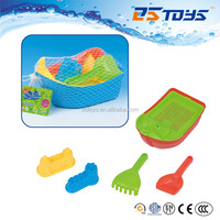 Beach Sand Castle Molds Toy Children Play Boat Cheap Small Plastic Toy Boat