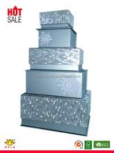 Custom Wholesale Decorative Christmas Gift Box