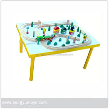 Popular Toy Set , Wooden Toys Trader , Train Set with Building