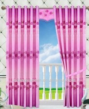 Fashion very cheap chenille grommet eyelet curtains