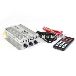 Amplificador de motocicleta remote control