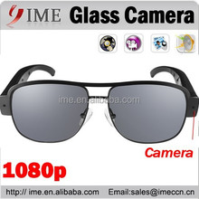 Hidden Sun Glasses Camera Audio Video Recorder DV DVR 1080P Black Sunglasses
