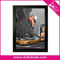 Colorful battery powered led light picture frame