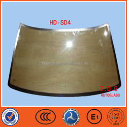 CCC DOT ISO9001 Certification and Front Windshield Type front windshield glass