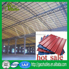 Buildings materials,upvc roofing sheet/heating insulation upvc roof tile