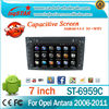 High quality Android 4.4 3g wifi DVD audio radio gps navigation and bluetooth for Opel VECTRA 2005-2008 car stereo