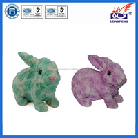 Resin Easter Chicken and Bunnies Spring/ Easter Everyday Decor(4 Pack),Easter Spring Chicken and Bunnies Figures