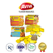HALAL BEEF BOUILLON CUBE BRANDS MIXED SEASONING STOCK CUBE FOR COOKING[AVIVA CUBE]
