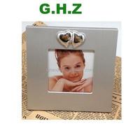 "Promotion Gift Metal Aluminium Alloy 3x3"" Photo Frame Factory"