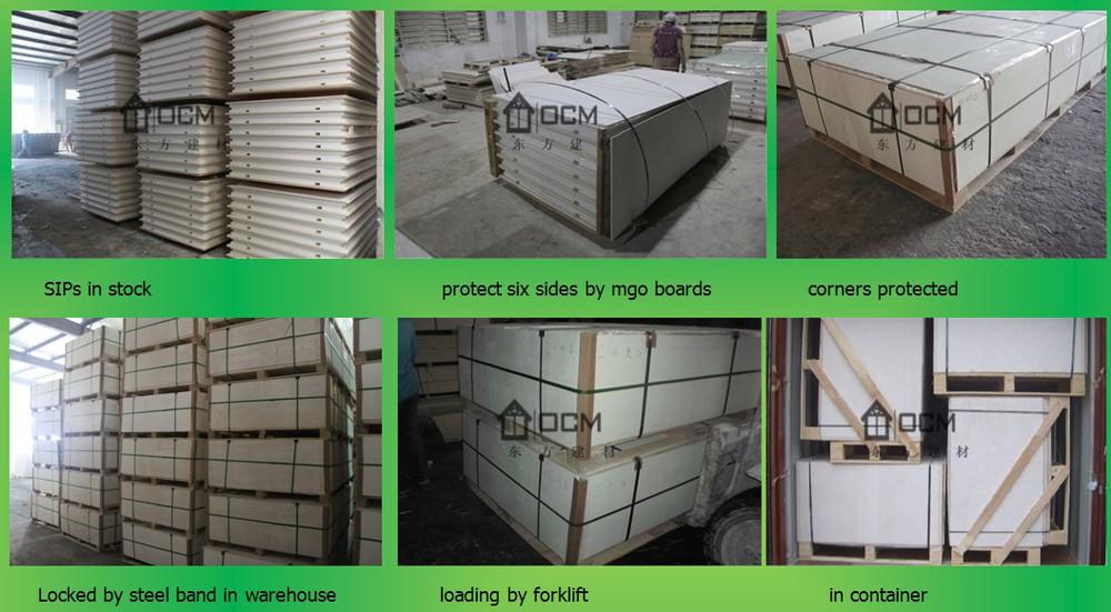 Foam Sandwich Panel Construction : Fast build sandwich panel made of osb foam view