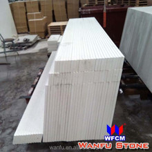 Prefab Artificial Marble Flat Edge Counter Top With Splash