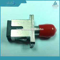 China supplier Hybrid Optical fiber SC / PC-ST / PC Adapter