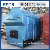 DZG series fixed grate CE coal fired steam boiler with european