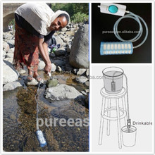 the best portable water filter which can be used as both personal water filter and gravity water filter, OEM, PF721