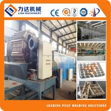 Egg tray machine production line