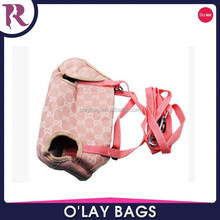 Fashion canvas tote bag rope handle pet designer tote