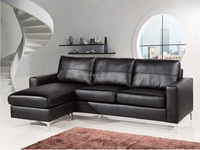 Modern living room furniture cheap L shape sectional sofa,Lazy boy synthetic or genuine leather corner sofa