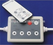 LED RGB controller system with IR remote for Flexible RGB strip light